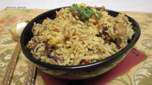 Summertime Indulgence: South Indian Chicken Biriyani