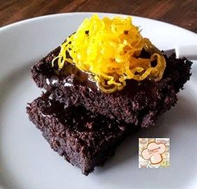 Brownie com Biomassa de Banana Verde