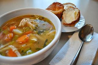 Sopa de frango com legumes (light)