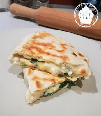 Les Gözlemes (pains plats turcs farcis) de Chef Nini
