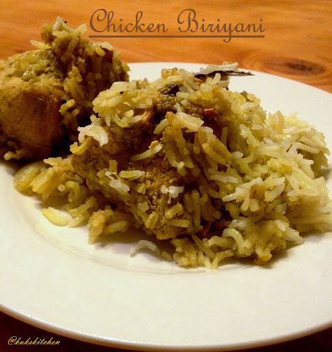 Chicken Biriyani   | Kukskitchen