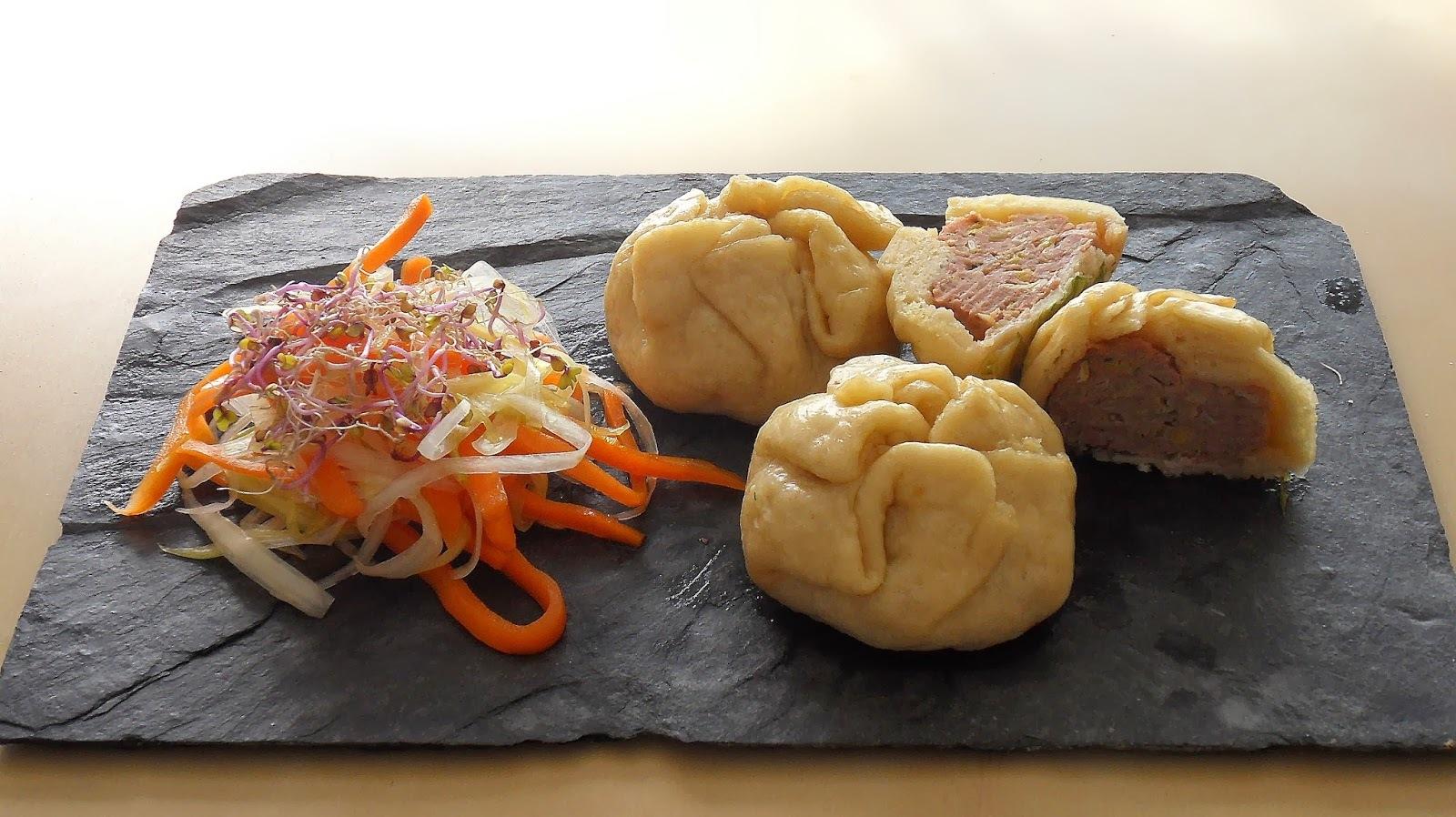 NIKUMAN  Farcellets japonesos de pork.