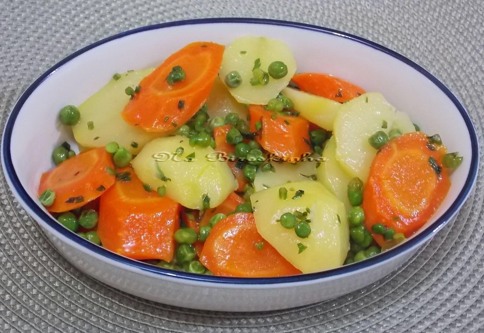 Legumes na Manteiga