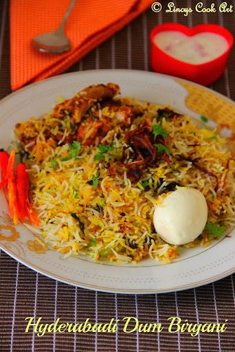 Hyderabadi Dum Biryani/ Chicken Biriyani/ Kachchi Gosht ki Biryani