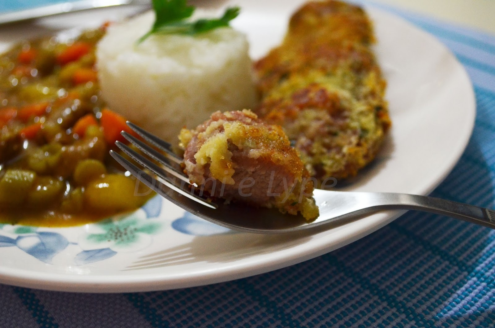 Tonkatsu com Curry (Tonkatsu Karê Rice)