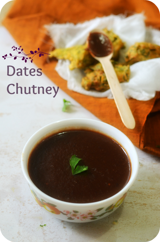 Dates Chutney - The quickest and simplest recipe