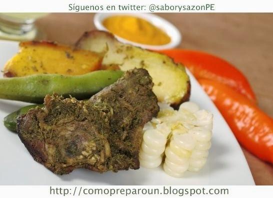 COMO PREPARO UNA PACHAMANCA - COMIDA DE LA SIERRA DEL PERÚ - Receta - Peruvian Food - Peruvian Cuisine
