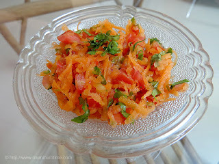 Carrot and Tomato Salad