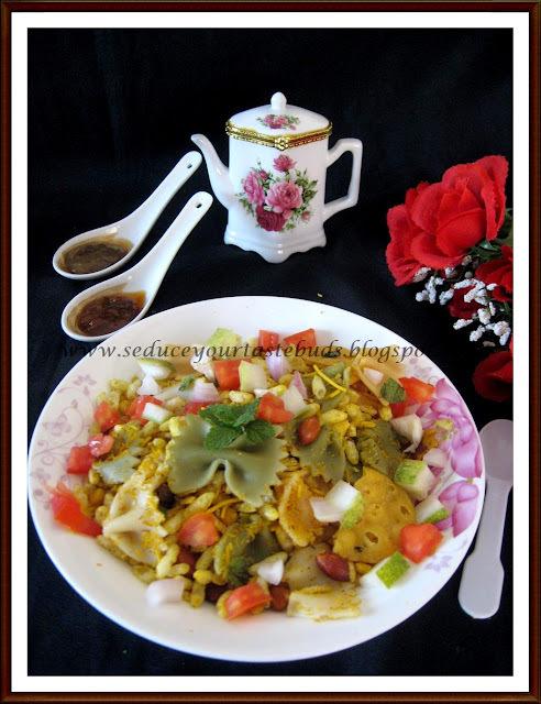 Italian Bhel Puri Salad