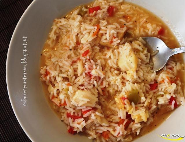 arroz com ervas aromaticas