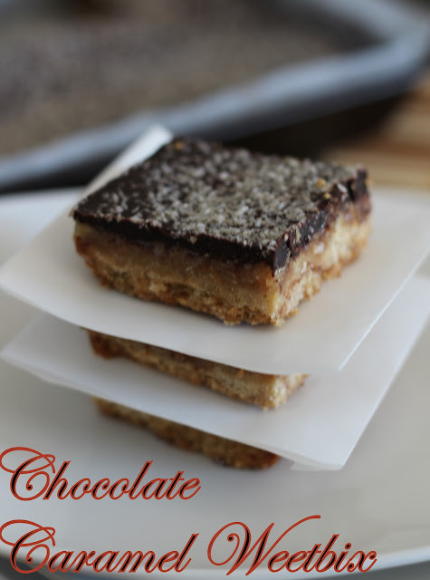 no bake weetbix slice