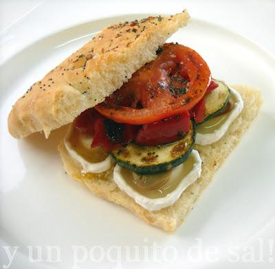 """bocadillo """"sabor mediterráneo"""""""