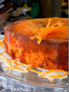 cobertura branca para bolo de laranja