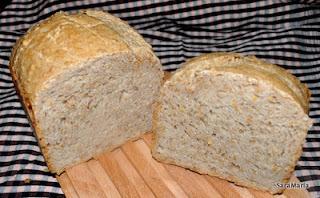 Pa de farina blanca i farina d'espelta