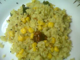 Sweet Corn Poha