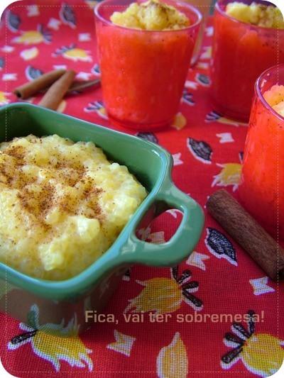 Curau de milho com tapioca - Festa Junina