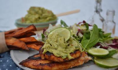 Mexikói csirkemell és kickass guacamole - paleo