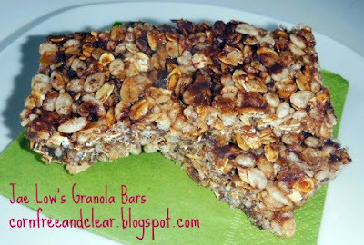 RECIPE OF THE WEEK: GRANOLA BARS