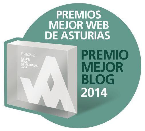 Premio al Mejor Blog de Asturias 2014 - XV Edición Premios de El Comercio