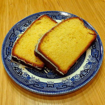 Child's Play - Almond Pound Cake (A.K.A. Bob's Armadillo Cake)