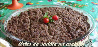 Kibe de forno ( receita de familia )