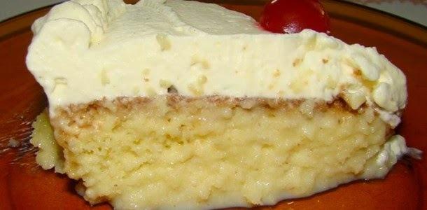 substituir leite por creme de leite no bolo na mistura pronta