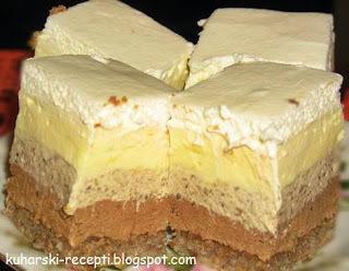 cokoladni puding sa keksom