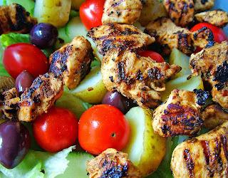 Receta de pollo( ensalada de pollo)