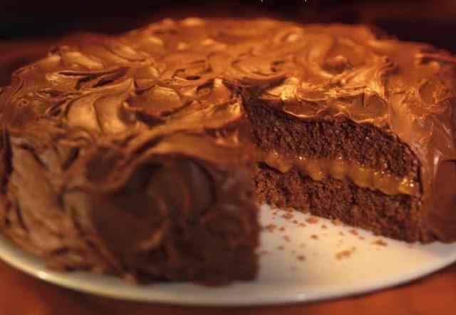 Bolo Suíço de Chocolate