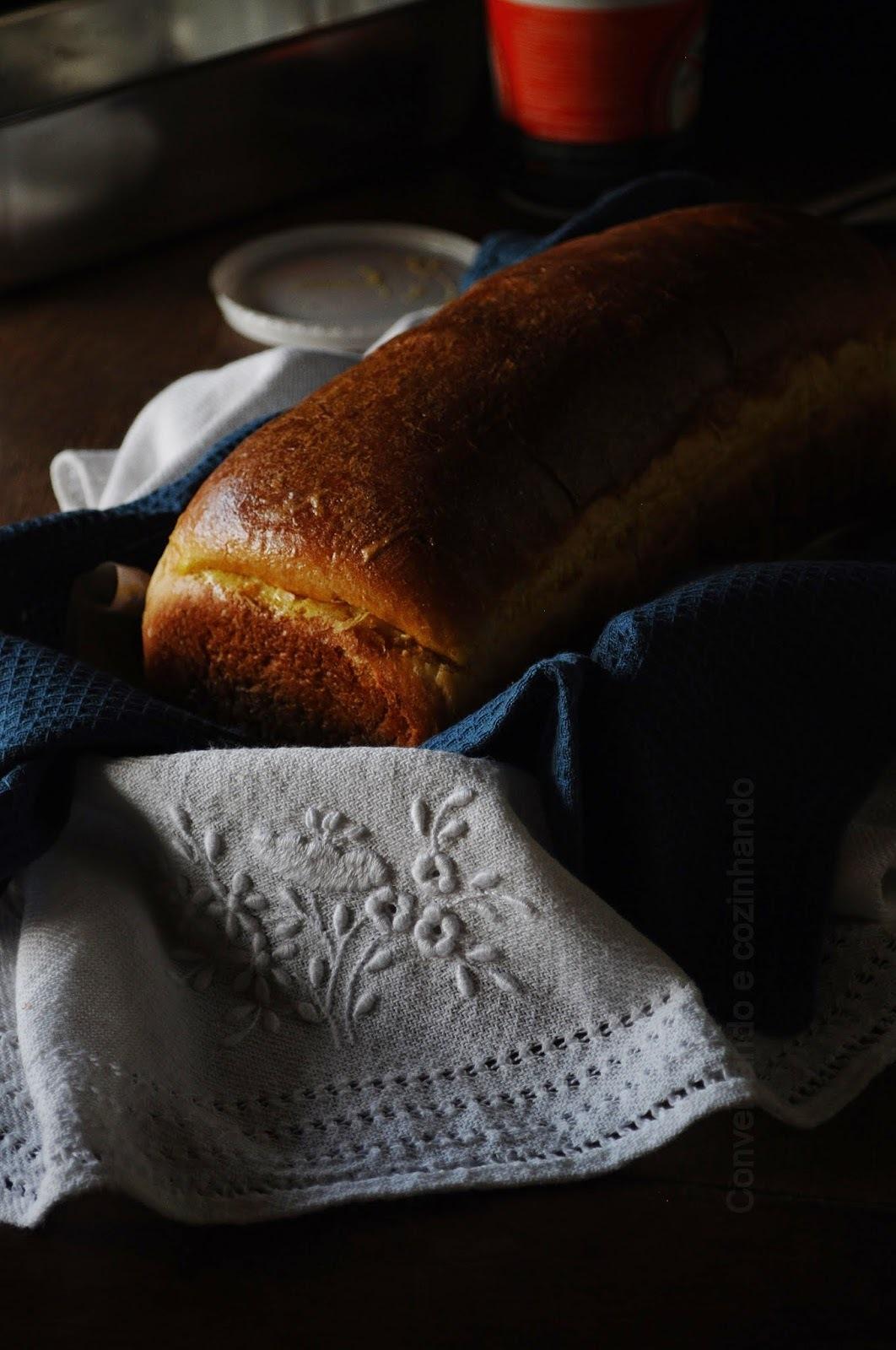 Pão de leite e a cozinha...