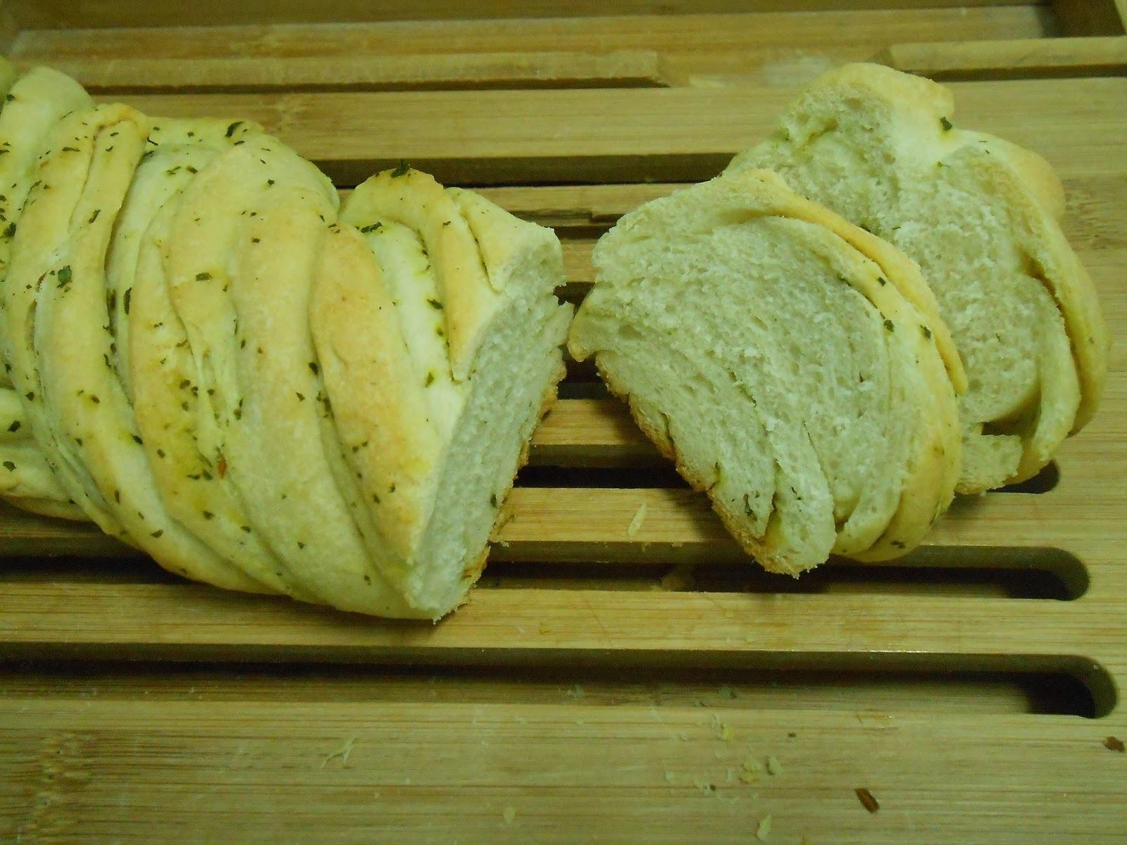 Pan de pesto
