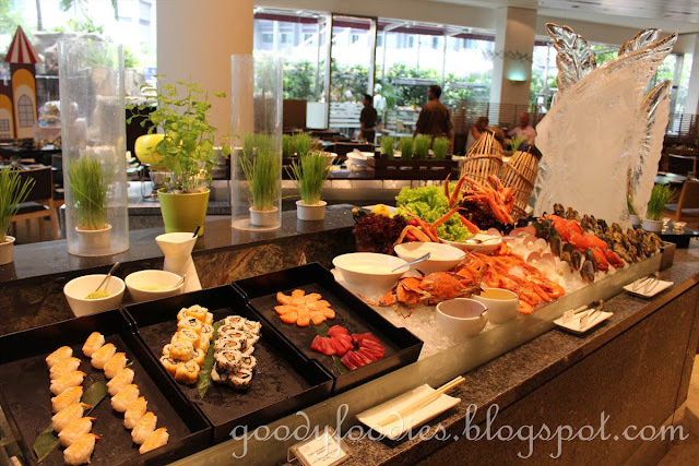 Sunday Brunch @ Serena Brasserie, InterContinental KL