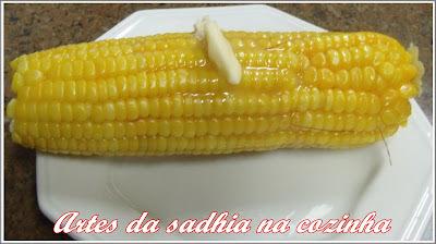 O segredinho do milho cozido de rua