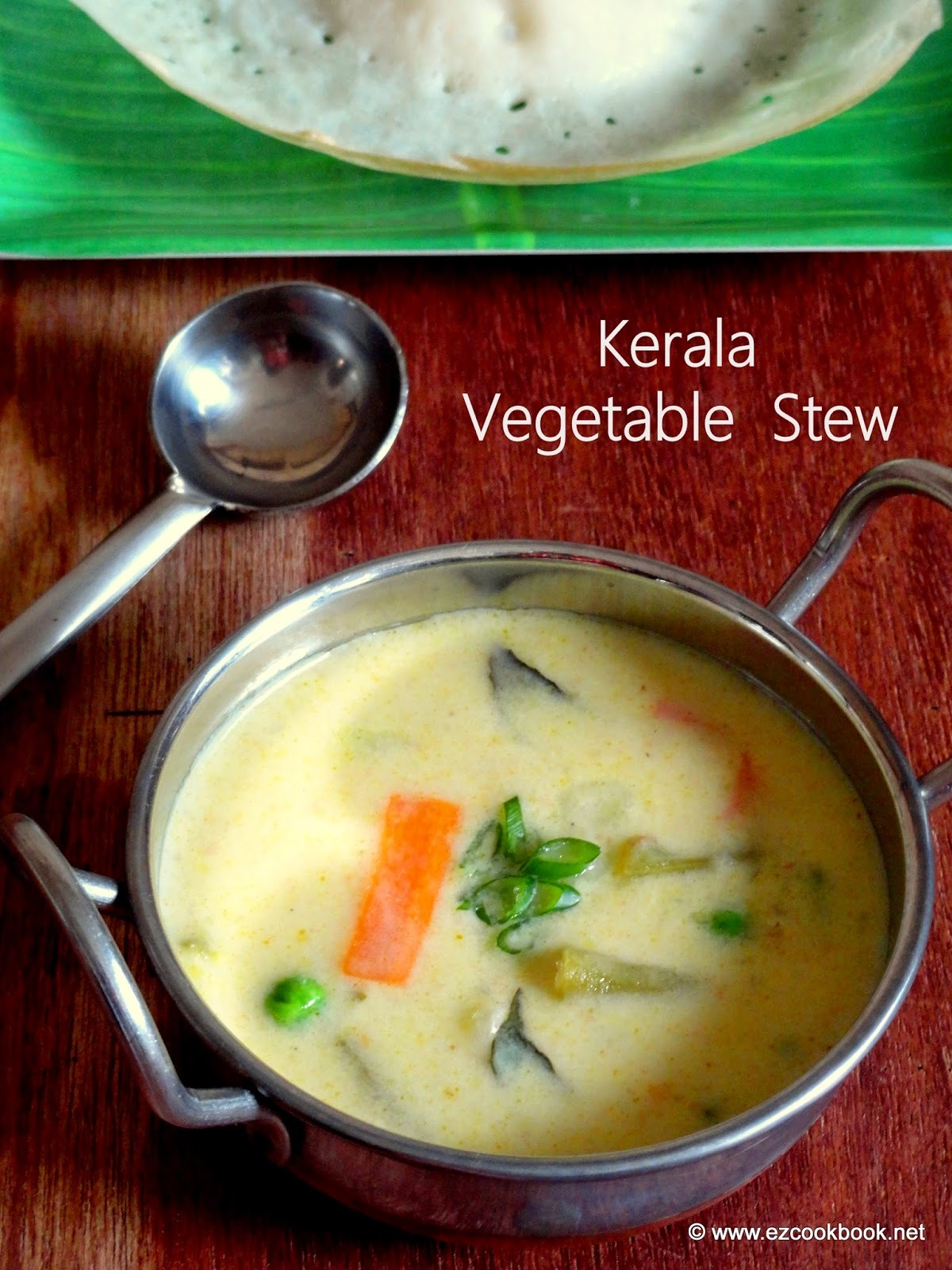 Vegetable Stew - Kerala Ishtu Recipe | Best Sidedish For Appam