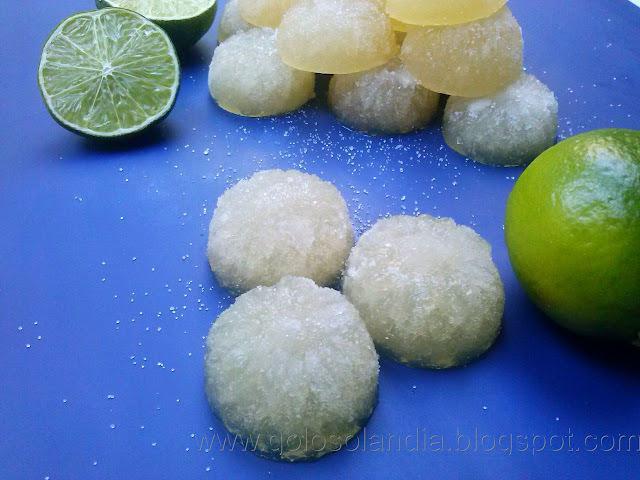 Gominolas de margarita, receta casera