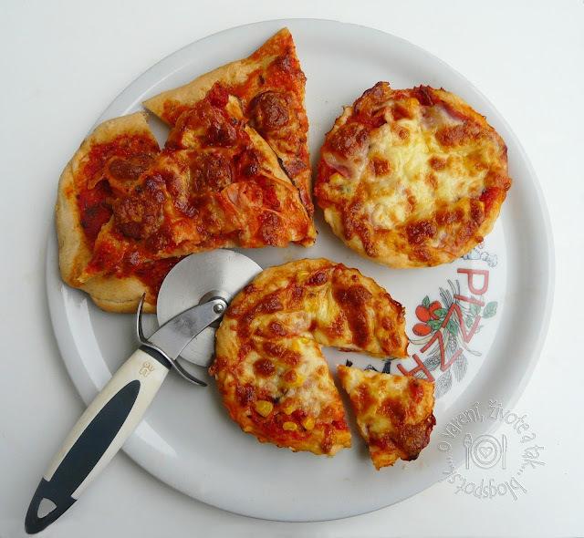 Ako sme s Jerguškom pizzové koláčiky piekli