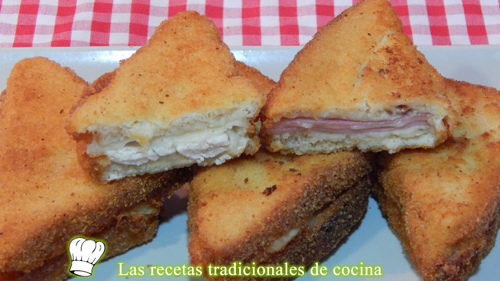 Croque monsieur o sandwich Monte cristo, receta