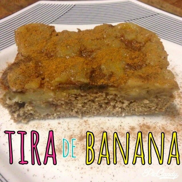 Tira de banana sem farinha