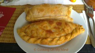 Empanadas de Marisco y Jamon/queso