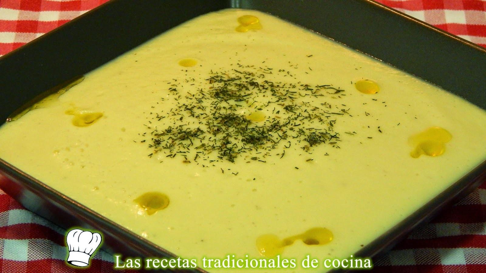 Receta fácil de crema de coliflor