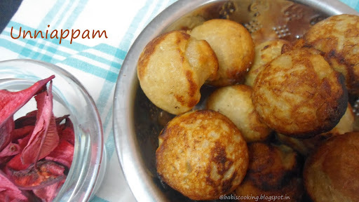 Unniappam | Kerala Dish -Easy method