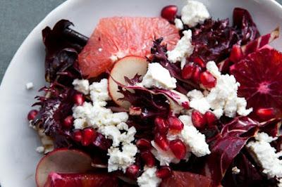 Salada vermelha para dia dos namorados