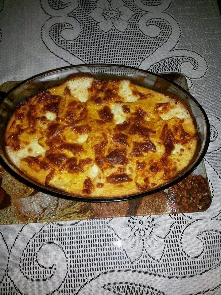 Sufle de milho verde