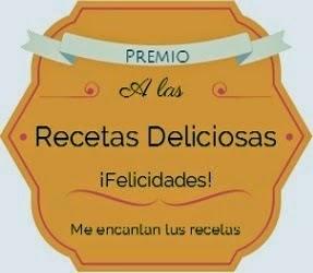 Premio A Las Recetas Deliciosas.