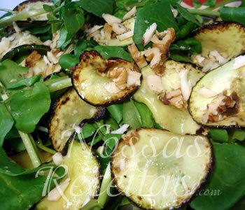 Salada de Abobrinha Refogada