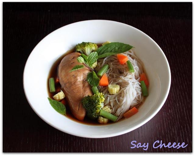 курица по китайски с овощами