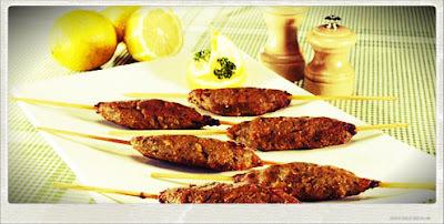 Comida Árabe: Kafta de Carne Moída