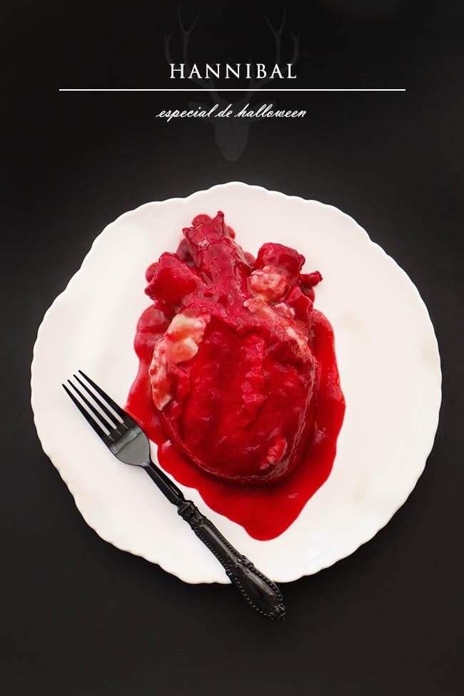 Pastel de Corazón Humano para Halloween