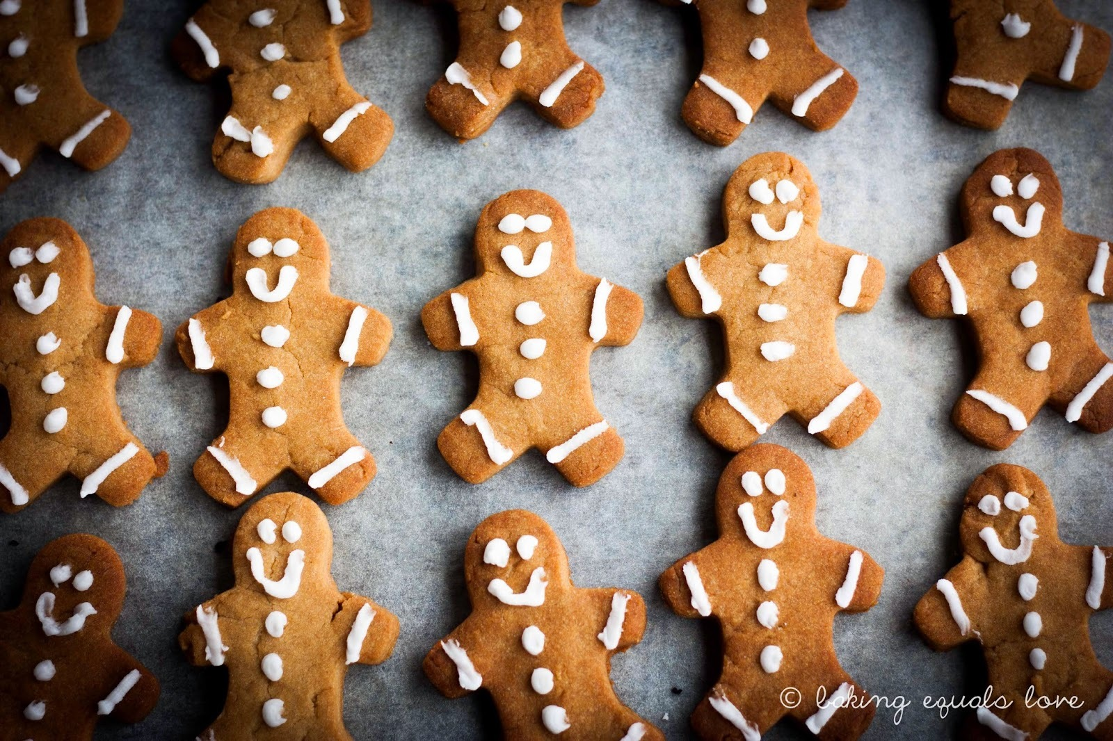 Last minute Christmas noms: Super Easy Gingerbread Men
