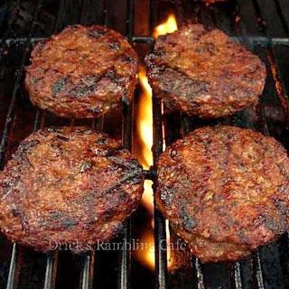 Award Winning Summertime Tasting Hamburger